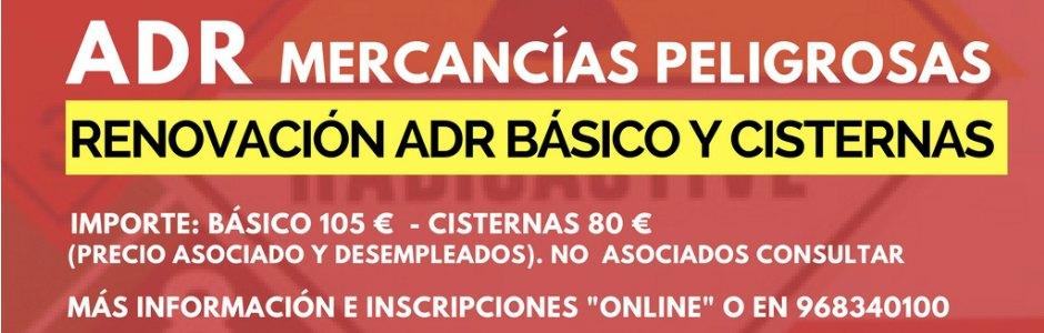 Cursos FROET en Murcia Adr Básico y cisternas