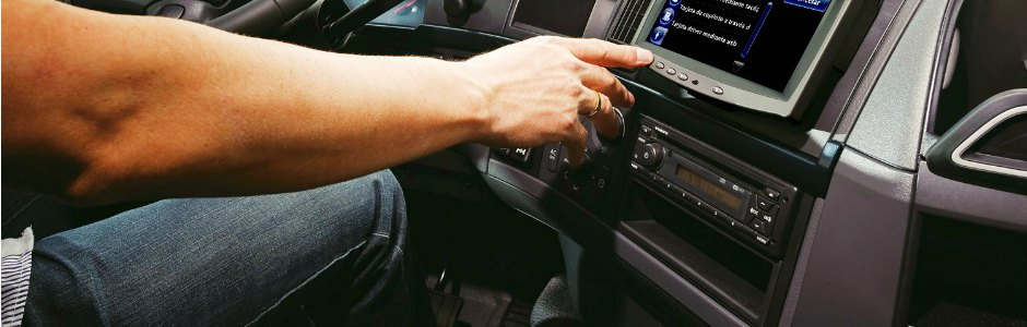 Entradas manuales en el tacógrafo digital