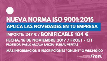 NUEVA NORMA ISO 9001-2015